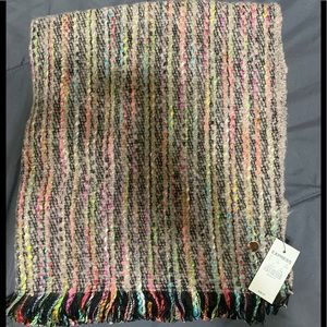 Express NWT multi-colored blanket scarf